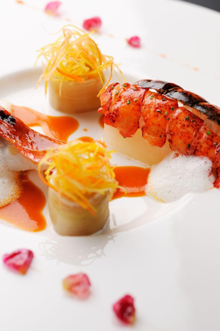2014ウエディングセレクトメニュー│オマール海老とソフトな味わいの蕪のポタージュ