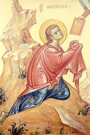 Пророк Моисей. Франция (Архимандрит Зинон, 1992)