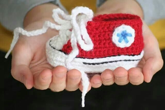 13 best Baby images on Pinterest | Punto de crochet, Converse de ...