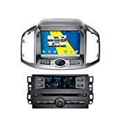 KELOMTECHNOLOGY 8″ HD 1024*600 Quad Core Android 4.4.4 Capacitive Multi Touch Screen Car Radio Stereo Player for Chevrolet Captiva 2011 Supprot Wifi GPS Bluetooth Steering Wheel Control