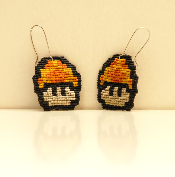 "SANAM ""Super Mario´s mushrooms"" earings"
