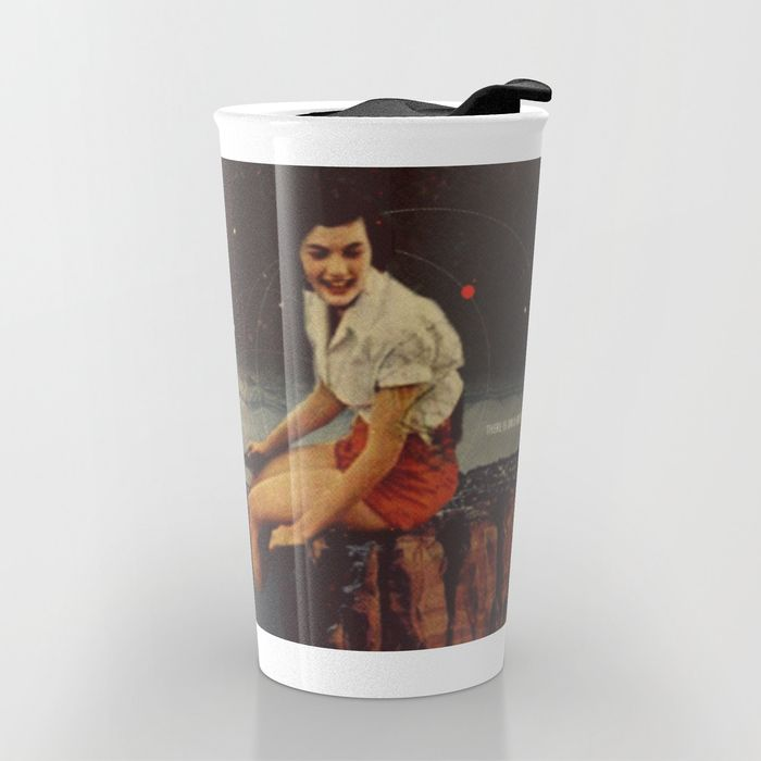 Only Hope Up Here Travel Mug by Frank Moth | Society6