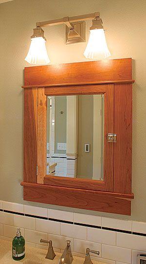 1000 images about bathroom on pinterest bathroom floor for Craftsman mirrors bathroom