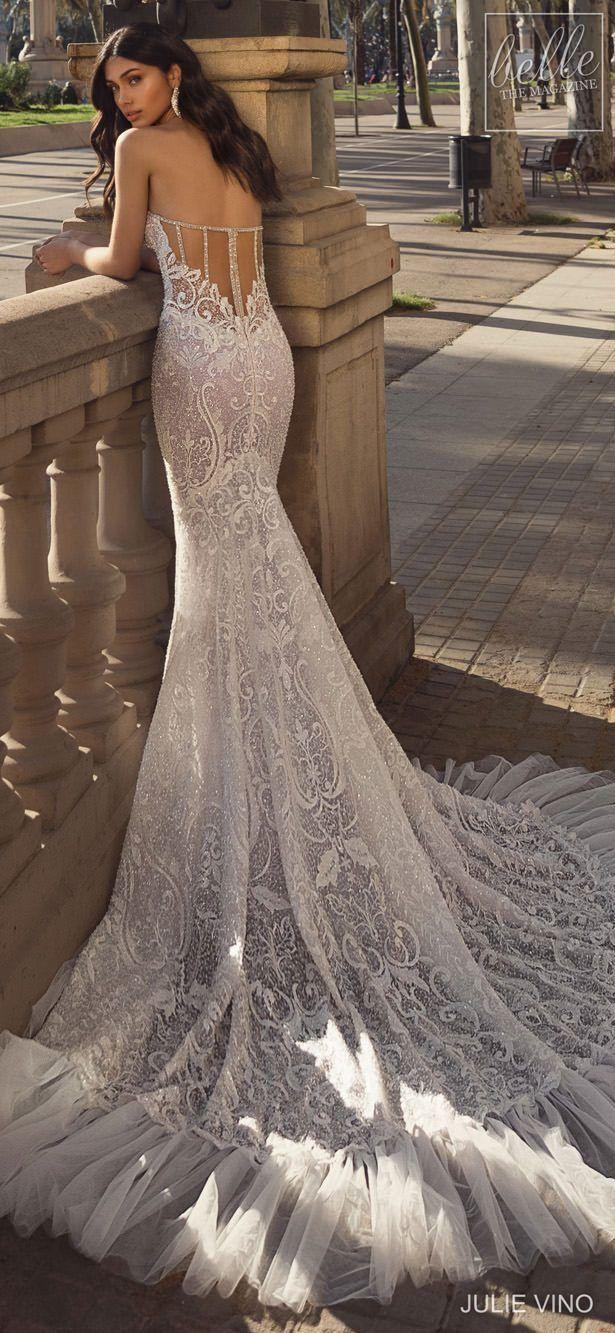 Eng schleppe brautkleid lange Brautkleider mit