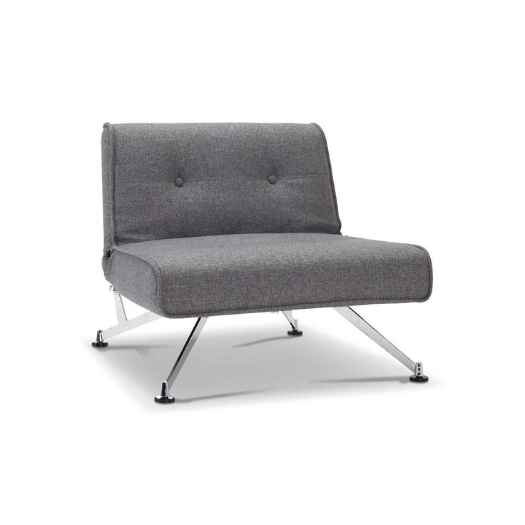 Innovation Sessel Clubber Grau Stoff