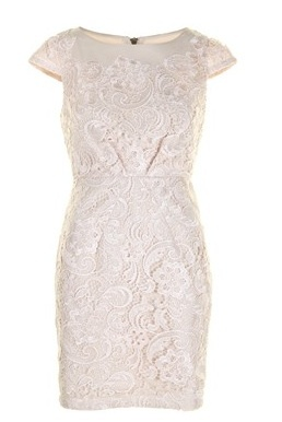 Darling brand dress in ivory lace. $190