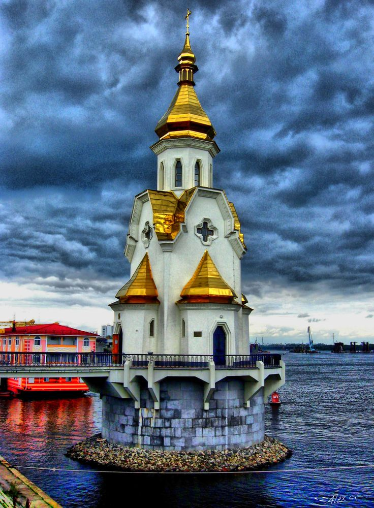 St Nick's Church, Kiev, Ukraine