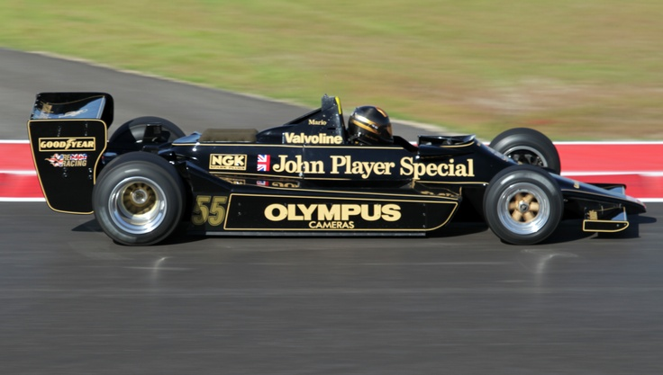Mario Andretti Lotus 79 1978 - Black Beauty (Austin 2012) © Peter Linder