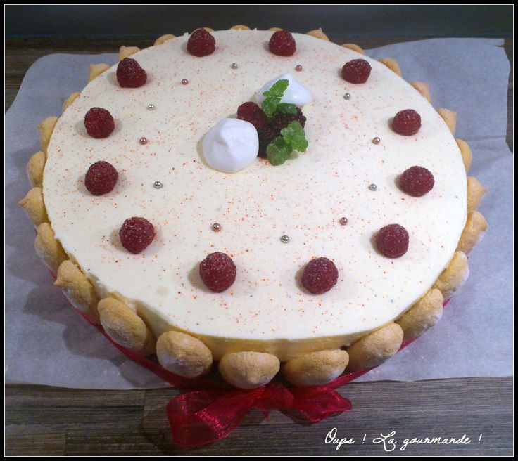 Gâteaux bavarois vanille fruits rouges - Oups ! La gourmande ! Oo° Recettes faciles  et