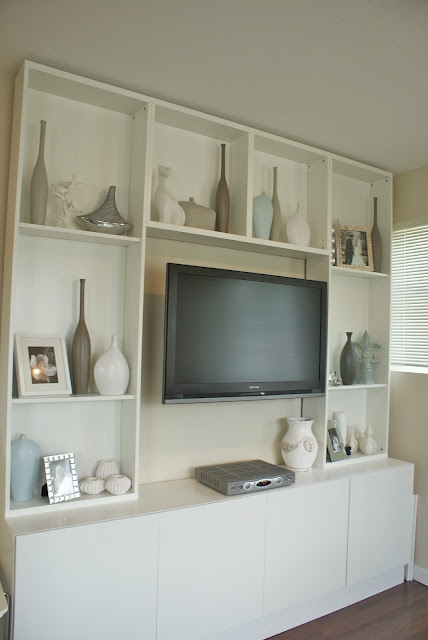 Best 25 Shelves Around Tv Ideas On Pinterest
