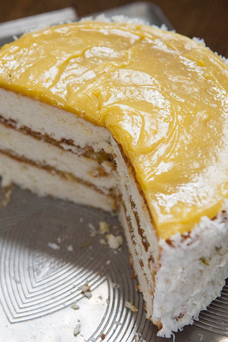 Lemon Pudding Cake Recipe New York Times