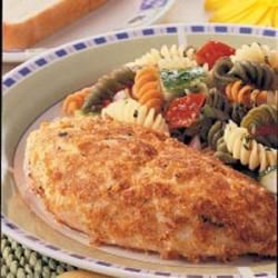 Breaded Ranch Chicken --  My standby chicken dish. This is so tasty and moist!