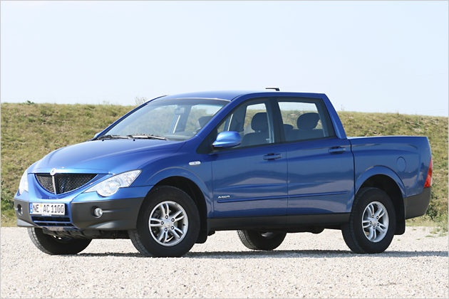 SSangyong Actyon Sports pickup