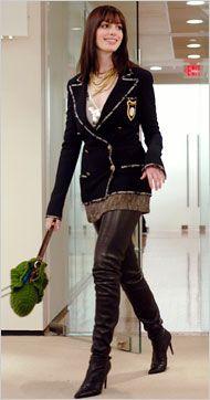 chanel    Calvin Klein,    movie wardrobe,    Chanel,    Devil Wears Prada,    I Want This Wardrobe