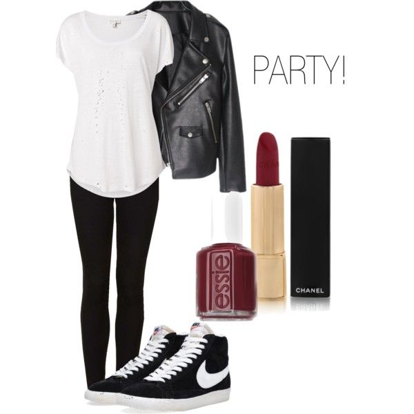"""Outfit for my Nike Blazer"" by kati-heilen on Polyvore"