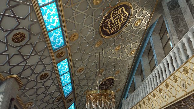 "Mosque ""Mother's Heart"" Argun sity, Russia"