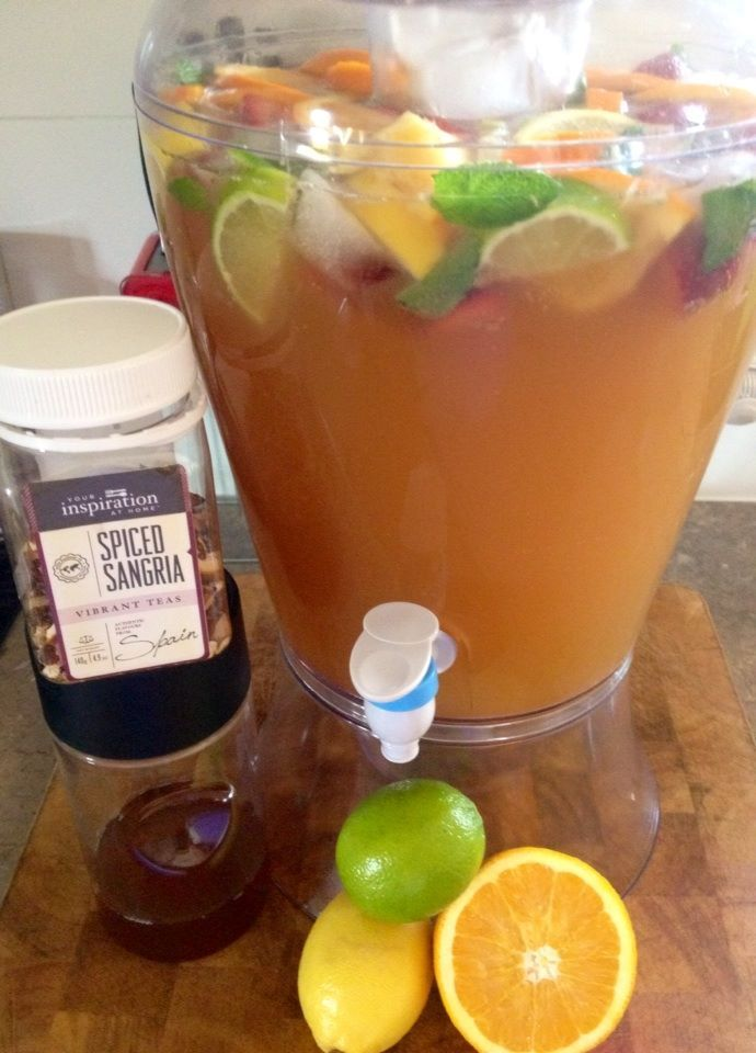 #YIAH Spiced Sangria Tropical Ice Tea Punch