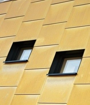Technall's GEODE-MX Visible Grid curtain walling