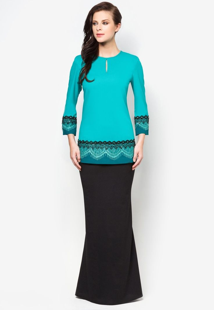 Buy Jovian Mandagie for Zalora Chantilly Clara Baju Kurung   ZALORA Malaysia