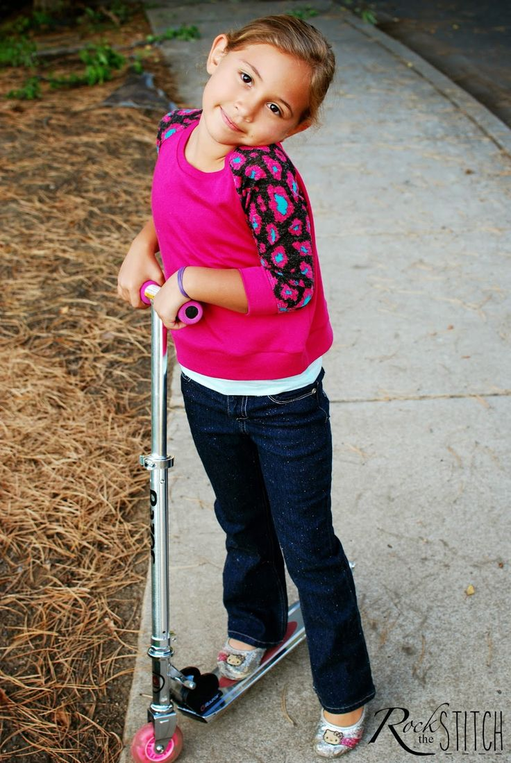 Raglan tees are a classic staple garment. They are quick and easy to sew too. I actually made these raglan tees for my daughter for bac...
