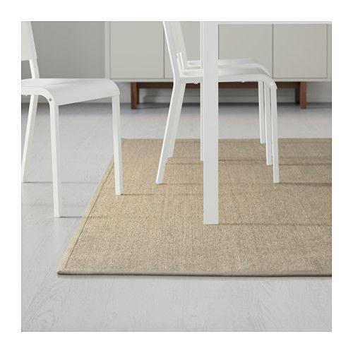 OSTED Teppich flach gewebt IKEA Besonders robust und haltbar, gefertigt aus Sisal, einer Naturfaser aus Agaven. http://www.ikea.com/de/de/catalog/products/30270316/#/20270312