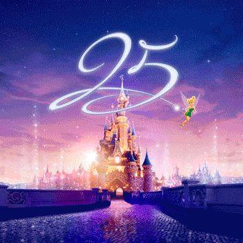 De 25e verjaardag van Disneyland Paris, het is tijd om te schitteren