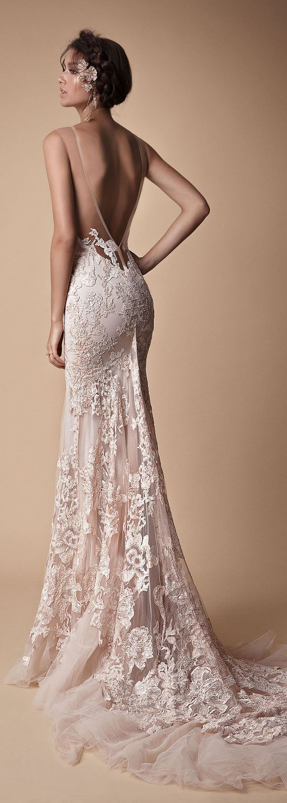 so many styles & silhouettes, a dream dress for every bride. We collected for you some sexy wedding dresses which are elegant alternatives for your big day!