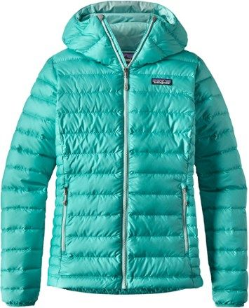 Patagonia Women's Down Sweater Hoodie Strait Blue XS