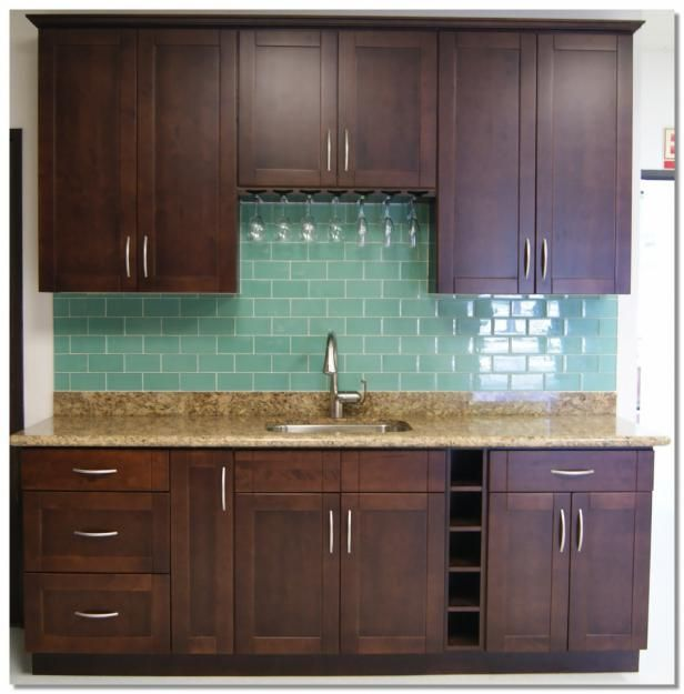 White Shaker Cabinets, Kitchen Backsplash And Islands