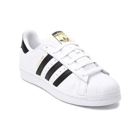 Kick it with the classic Superstar Athletic Shoe from adidas! Lace up the classic style and signature comfort of the Superstar Athletic Shoe, sporting durable leather uppers with iconic rubber shell toe, and signature adidas side stripes. <br><br><u>Features include</u>:<br> > Smooth leather upper with breathable mesh lining<br> > Padded collar for comfort<br> > Lace closure for a secure fit<br> > Signature side stripes<br> > Classic rubber shell toe provides durability<br> > Flexible…