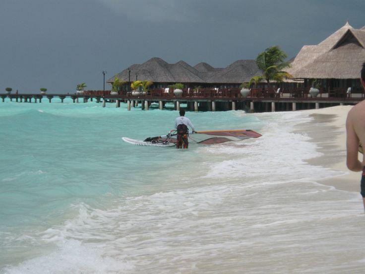 Windserfer #Malediwy #Maldives  Ewa Kowalczewska-Joosten pracownik działu LATAM