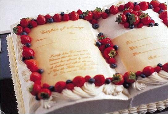 オペラ・ドメーヌ 高麗橋のプランナーブログ「ウェディングケーキ!」 結婚式場(ウ... : 【結婚式披露宴】ブック型ウエディングケーキ集【本型】 - NAVER まとめ