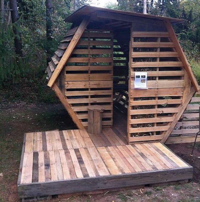 Wonderful Fabriquer Une Cabane De Jardin En Bois De Palette Pas Cher Et Design