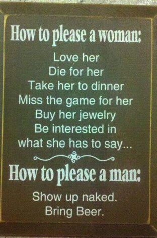 How to please a woman:Laugh, So True, The Games, Funny Quotes, Funny Stuff, Humor, Men Vs Women, Man Caves, True Stories