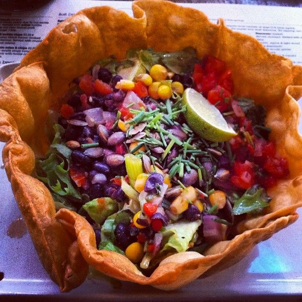 # Wahaca Westfield   The very delicious Sonora Salad with black beans and corn salsa  Photo by janebeecham