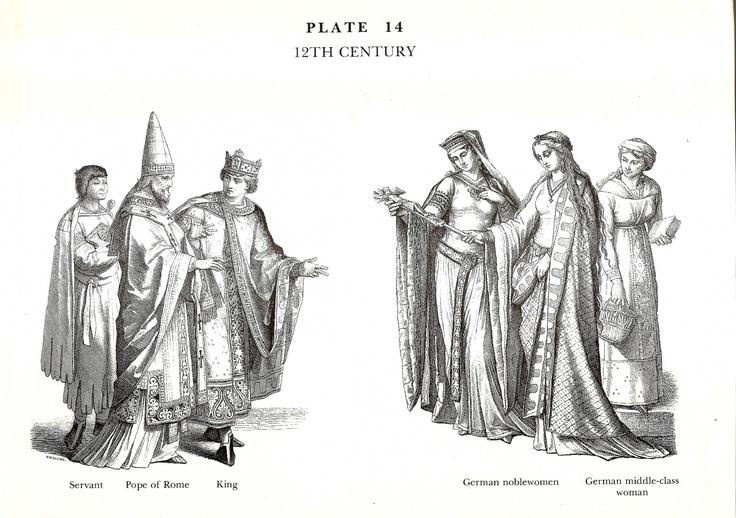 Pin på Munchener Bilderbogen: Historic Costumes
