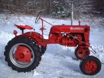 tractor snow plow | Used Farm Tractors for Sale: 1948 Farmall Cub (2003-12-16 ...