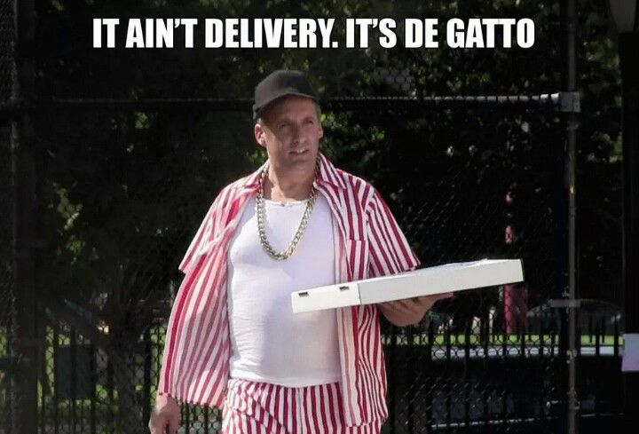 It ain't delivery, it's De Gatto