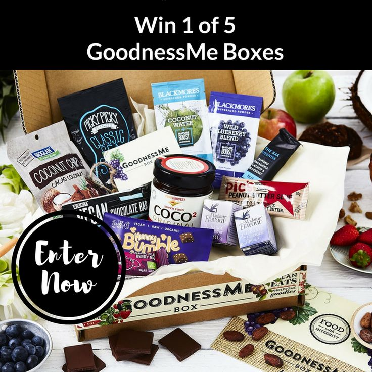 We're giving 5 lucky tribe members the chance to discover the most sought-after clean eats with @GoodnessMeBox. Click link to enter.
