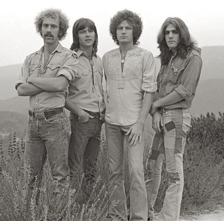 Eagles in Topanga Canyon back in 1973. © Henry Diltz Photography