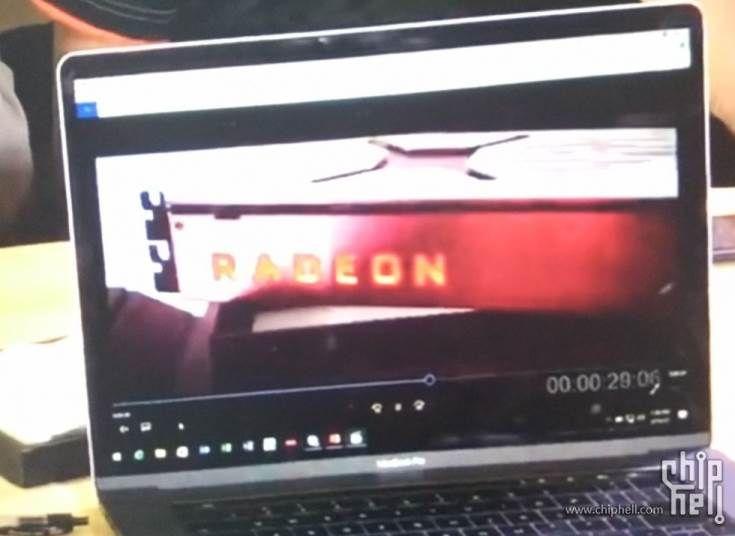 Появились первые изображения 3D-карты AMD Radeon RX Vega