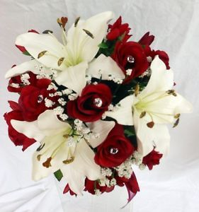 red and ivory wedding bouquets | KGrHqR,!mIE8FFTiZTfBPGeG,6D-g~~60_35.JPG