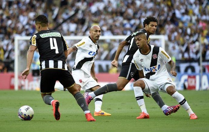 BotafogoDePrimeira: Rafael Silva brilha no fim, e Vasco bate o Bota e ...