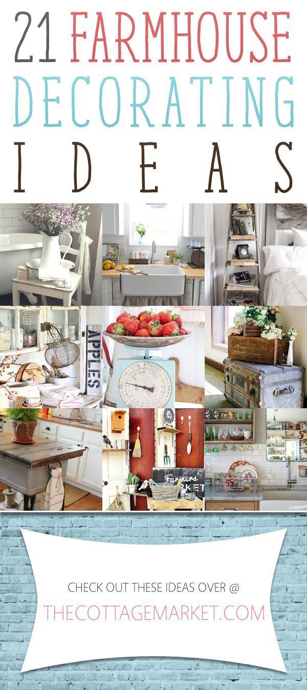 21 Farmhouse Decorating Ideas /// Page 4 - The Cottage Market