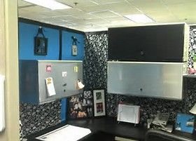 Image result for cubicle Makeover ideas
