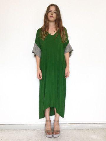 philadelphia dress - evergreen