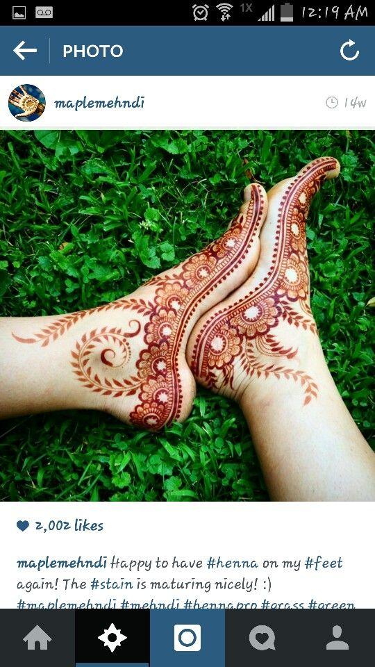 Henna I found on instgram