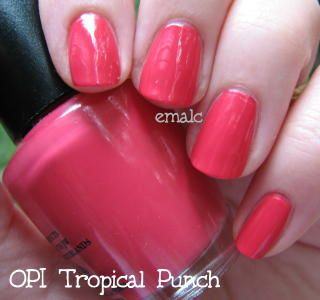 Opi Tropical Punch In 2018 B E A Uty Pinterest Nails And