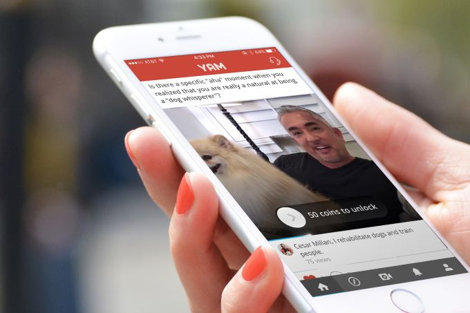 Yam video-based Q&A app puts story-telling front and center