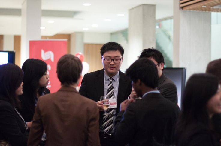 Mingling on Day One of Marketing YOUniverse. #SponsorUsTE    (Help us make an Egg-cellent partnership with TalentEgg.ca, a reality. Sign our petition here: http://www.ipetitions.com/petition/yma-talentegg-an-egg-cellent-partnership/)